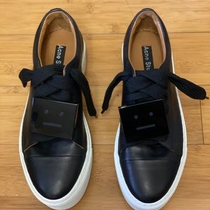 Acne Studios Leather Platform sneakers